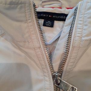 Tommy Hilfiger belted rain jacket